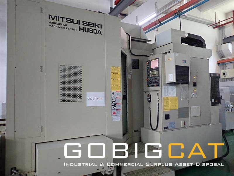 4-Axis CNC Horizontal Machining Center