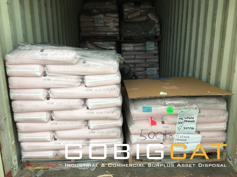Surplus POLYCARBONATE (PC) RESIN APPROX.30T