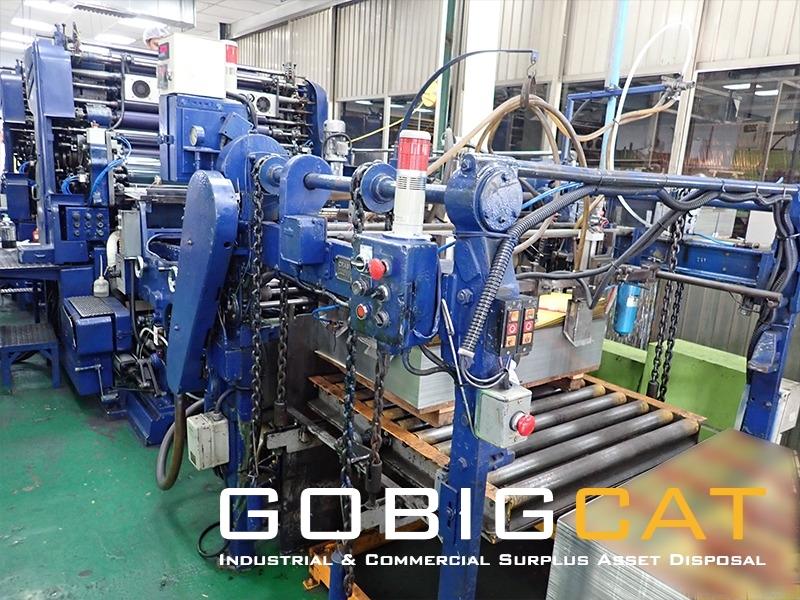Two Colour Metal Printing Press Machine